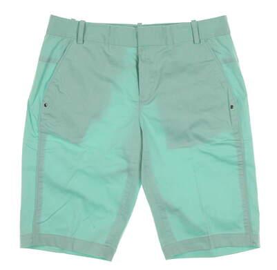 New Womens Ralph Lauren Golf Teague Shorts Size 2 Green MSRP $98
