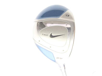 Nike T-40 Oversize Fairway Wood 7 Wood 7W 23* Nike Golf Shaft Graphite Ladies Right Handed 40.5 in
