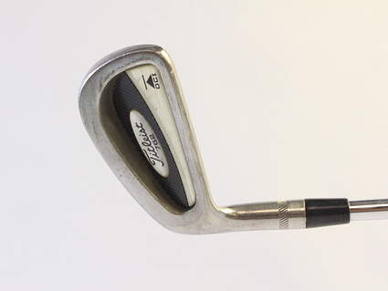 Titleist DCI 762 Single Iron 6 Iron True Temper Dynalite Gold Steel Stiff Left Handed 36.25 in