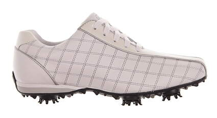 New Womens Golf Shoe Footjoy Lopro Medium 10 White MSRP $140