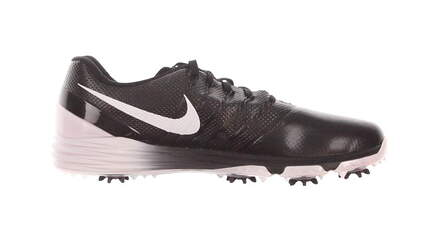 New Mens Golf Shoe Nike Lunar Control 4 Wide 10.5 Black/White MSRP $210 819036 001