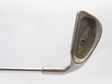 Ping Eye 2 Single Iron 4 Iron Ping ZZ Lite Steel Stiff Right Handed Blue Dot 38.75 in