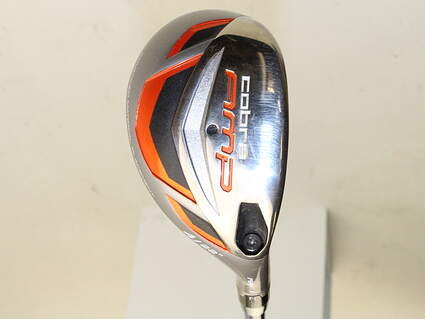 Cobra AMP Hybrid 4 Hybrid 22* Project X 5.5 Graphite Stiff Right Handed 39.5 in