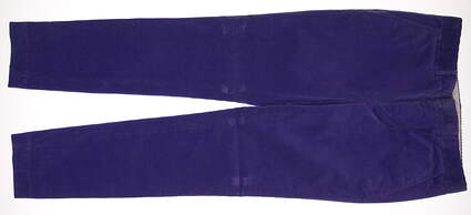 New Womens Ralph Lauren Polo Golf Skinny Corduroy Victory Pants Size 6 Purple MSRP $145
