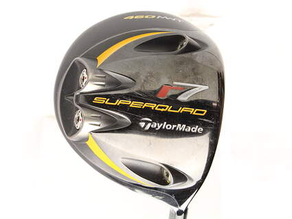 TaylorMade R7 Superquad Driver 9.5* TM Fujikura Reax 65 Graphite Stiff Right Handed 45 in