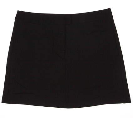 New Womens Puma Golf dryCell Solid Tech Skort Size 12 Black MSRP $65 568369 01