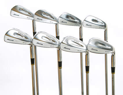 Mizuno MP 67 Iron Set 3-PW True Temper Dynamic Gold S300 Steel Stiff Right Handed 38 in