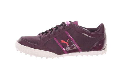 New Womens Golf Shoes Puma Monolite Cat Medium 6.5 Purple MSRP $70 188204