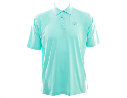 New W/ Logo Mens Peter Millar Golf Summer Comfort Stretch Polo X-Large XL Green MSRP $95 MS15EK01