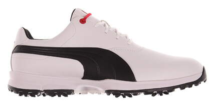 New Mens Golf Shoe Puma Ace 9.5 White / Black MSRP $100 188658 01