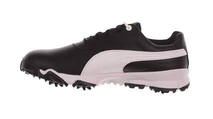New Mens Golf Shoe Puma Ace 10 Black / White MSRP $100 188658 04