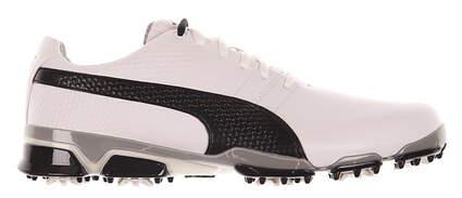 New (Slightly Blemished) Mens Golf Shoe Puma Titantour Ignite 10.5 White / Black MSRP $160 188656 03