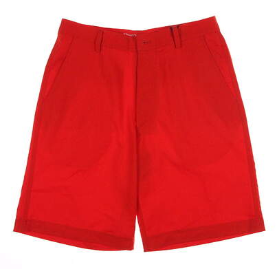 New Mens Straight Down Golf Shorts Size 30 Orange MSRP $50
