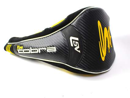 New Cobra L5V F Speed Driver Headcover Magnetic Clasp Black Yellow Head Cover Golf