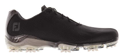 New Mens Golf Shoe Footjoy DNA Medium 8.5 Black MSRP $200 53455