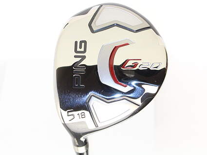 Ping G20 Fairway Wood 5 Wood 5W 18* Ping TFC 169F Graphite Senior Left Handed 42.5 in