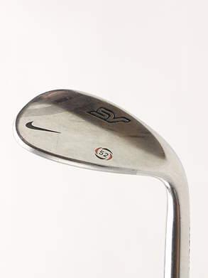 Nike SV Tour Chrome Wedge Gap GW 52* 10 Deg Bounce Stock Steel Shaft Steel Wedge Flex Right Handed 35.25 in