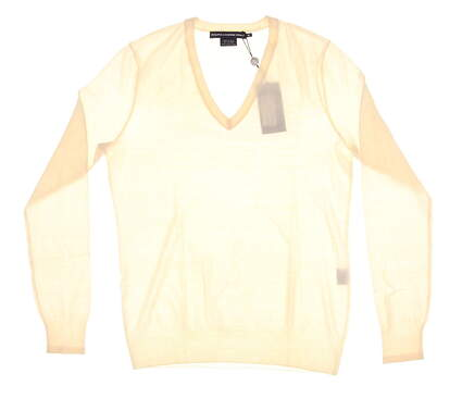 New Womens Ralph Lauren Golf Sweater Medium M Off-White MSRP $145