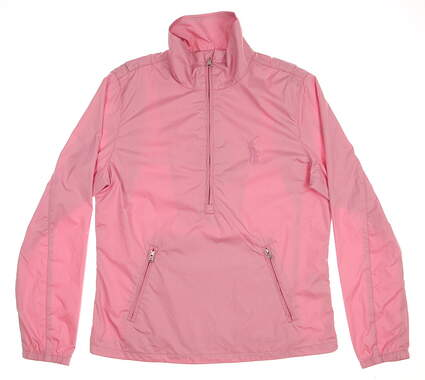 New Womens Ralph Lauren Golf Jacket Small S Pink MSRP $125 7262599
