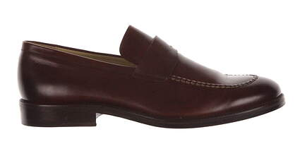 New Mens Golf Shoe Peter Millar Loafer 10 Brown MSRP $295 MC00F26