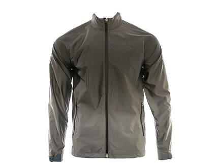 New Mens Puma Ombre Golf Wind Jacket Medium M Puma Black MSRP $100