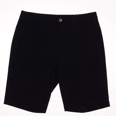 New Mens Puma Tailored Mesh Golf Shorts Size 32 Peacoat MSRP $65