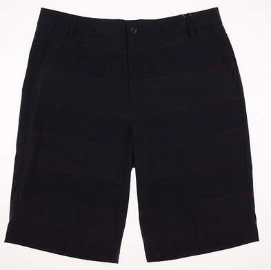 New Mens Puma Pattern Golf Shorts Size 32 Peacoat/Beetroot Purple MSRP $75