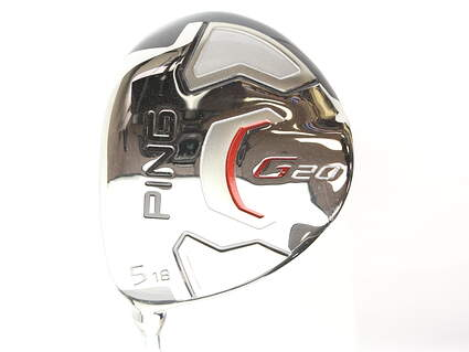 Ping G20 Fairway Wood 5 Wood 5W 18* True Temper Dynamic Gold S300 Steel Stiff Left Handed 42.25 in