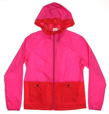 New Womens EP Pro Jacket Small S Pink/Red MSRP $118