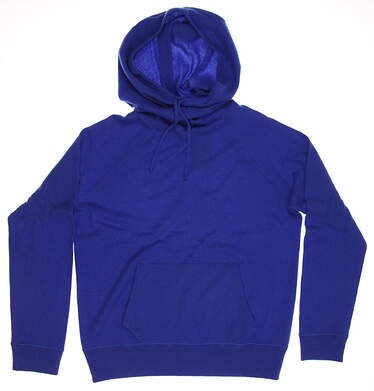 New Womens Ralph Lauren Cashmere Funnel Neck Hoodie X-Large XL Bright Imperial MSRP $498