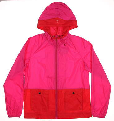 New Womens EP Pro Jacket Medium M Pink/Red MSRP $118