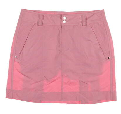 New Womens Ralph Lauren Golf Tour Classic Skort Size 8 Pink MSRP $125 3859457