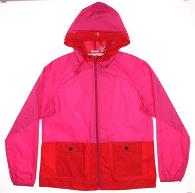 New Womens EP Pro Jacket Large L Pink/Red MSRP $118