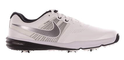 New Mens Golf Shoe Nike Lunar Command 10 White/Black MSRP $150 704427-102
