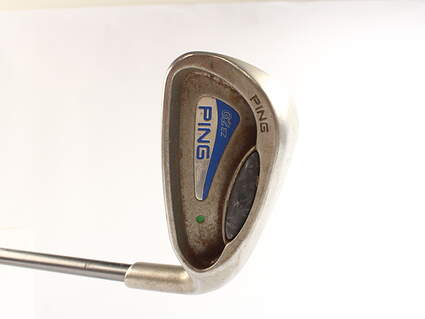 Ping G2 EZ Single Iron 9 Iron Ping TFC 100I Graphite Regular Right Handed Green Dot 35.75 in