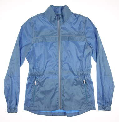 New Womens Cutter & Buck Golf Jacket Small S Blue MSRP $80