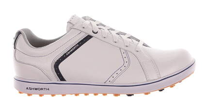 New Mens Golf Shoe Ashworth Cardiff ADC 2 9.5 White MSRP $100