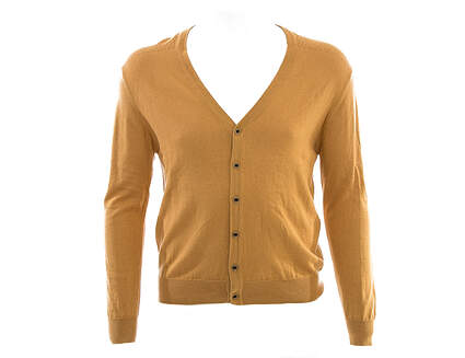 New Mens G-Mac by Kartel McButton Sweater Cardigan X-Large XL Tan (Flax) MSRP $125