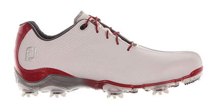 New Mens Golf Shoe Footjoy DNA Medium 9 White/Red MSRP $190 53424