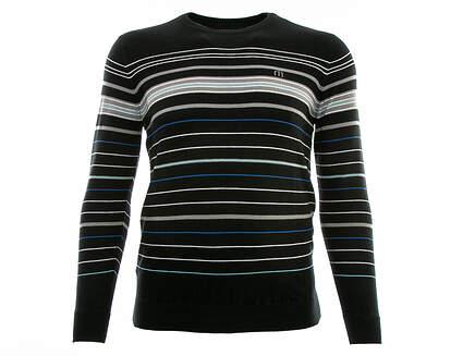 New Mens Travis Mathew Bulkhead Sweater Large L Black MSRP $115