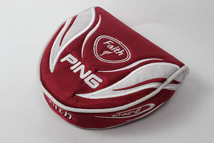 Ping Faith Craz-E Mallet Heel Shafted Putter Headcover Magnetic