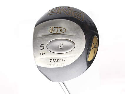 Ping T i3 Fairway Wood 5 Wood 5W 17* Ping Aldila 350 Series Graphite Stiff Left Handed 42 in