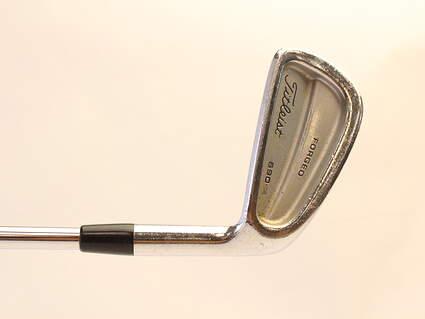 Titleist 690 CB Forged Single Iron 6 Iron True Temper NDI Shaft Steel Regular Right Handed 37.5 in