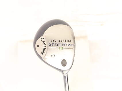 Callaway Steelhead III Fairway Wood 7 Wood 7W Callaway System III Graphite Ladies Right Handed 41.5 in