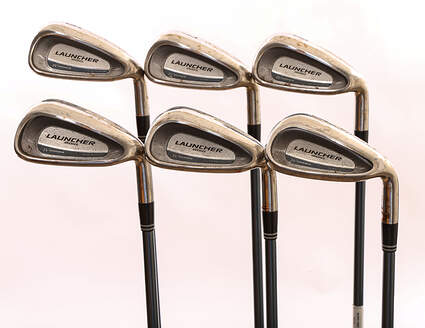 Cleveland Launcher Womens Series Iron Set 6-PW SW Stock Graphite Shaft Graphite Ladies Right Handed 37 in