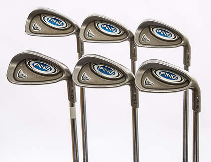 Ping i5 Iron Set 5-PW True Temper Steel Regular Right Handed Silver Dot 38 in