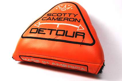 Titleist Scotty Cameron Detour Putter Headcover Orange and Black Right Hand
