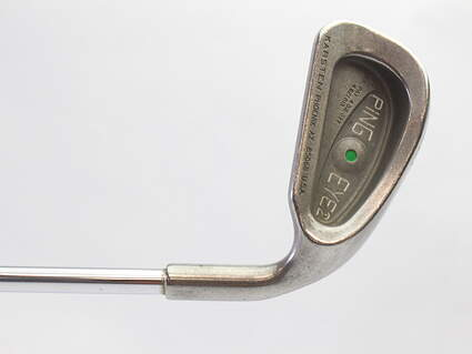 Ping Eye 2 Single Iron 3 Iron Stock Steel Shaft Steel Regular Right Handed Green Dot 39.25 in