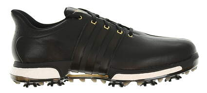 New Mens Golf Shoe Adidas Tour 360 Boost Wide 10 Black MSRP $200 F33262
