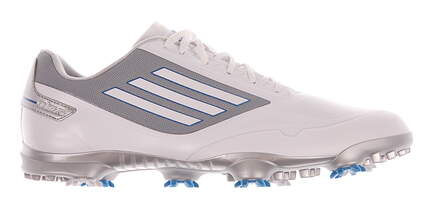 New Mens Golf Shoe Adidas Adizero One Medium 9.5 White/Grey MSRP $150 Q46801